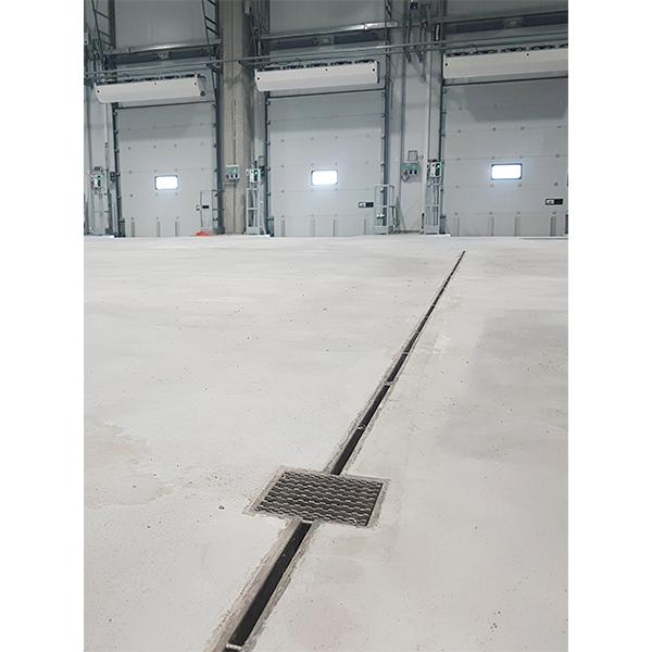 Plataforma Frigorífica de Carrefour - Canalina y Sumidero Industrial